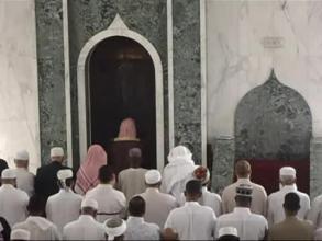نماز جمعه در جنوب افريفا