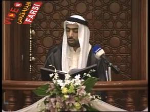 عبدالله أبل در افتتاحيه مسجد