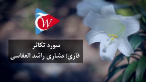 102- سوره تکاثر به زبان فارسی